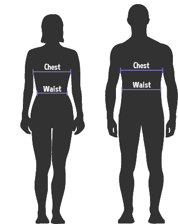 How to measure Chest & Waist