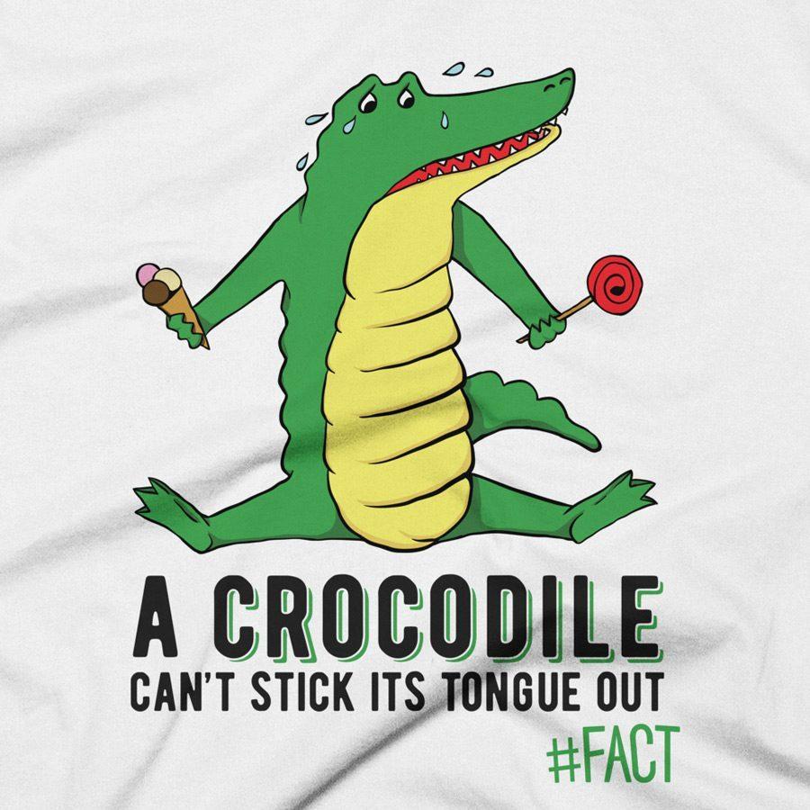 Crocodile #FACT Clothing