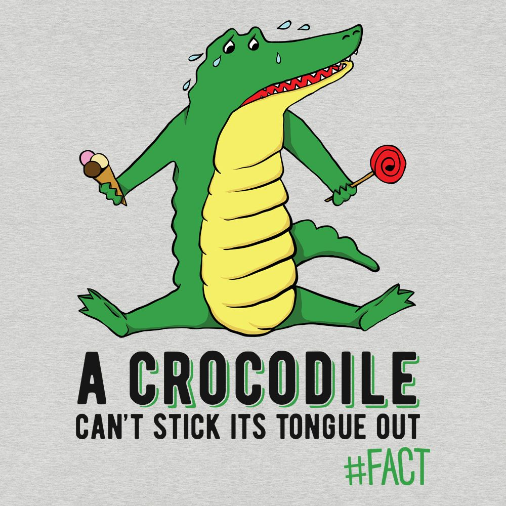 Crocodile #FACT T-Shirt