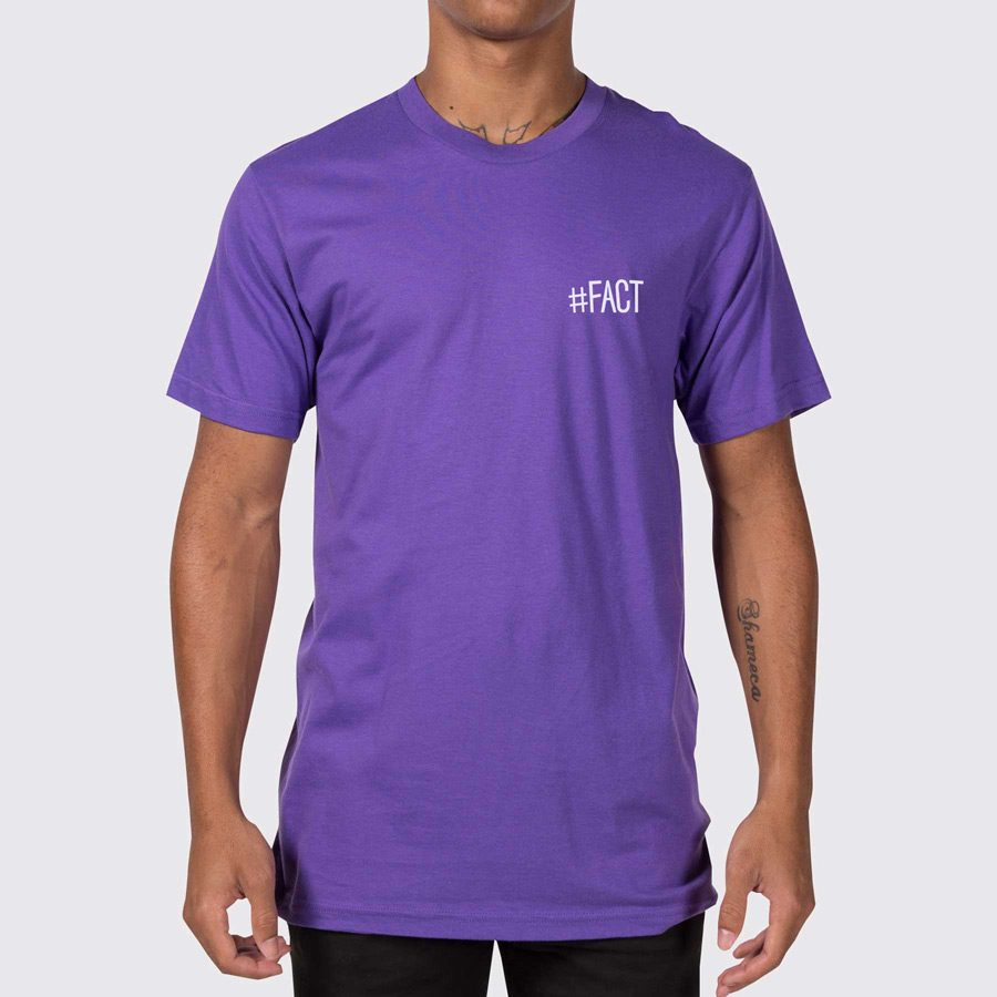 The fact shop fact logo men 39 s t shirt for Shop mens t shirts