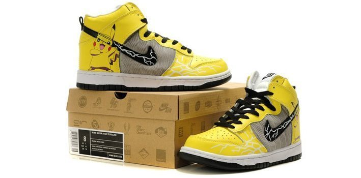 Pikachu Nike Shoes