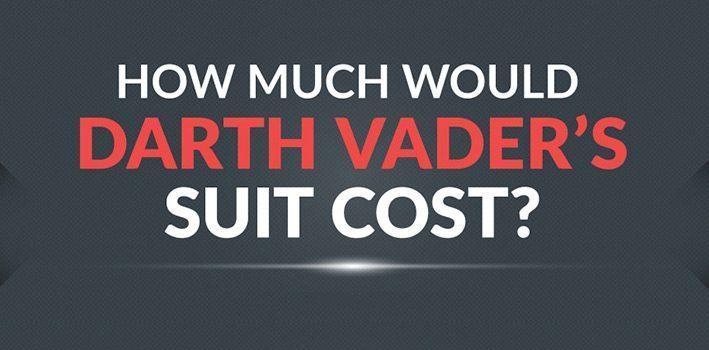 Darth Vader Suit Costs