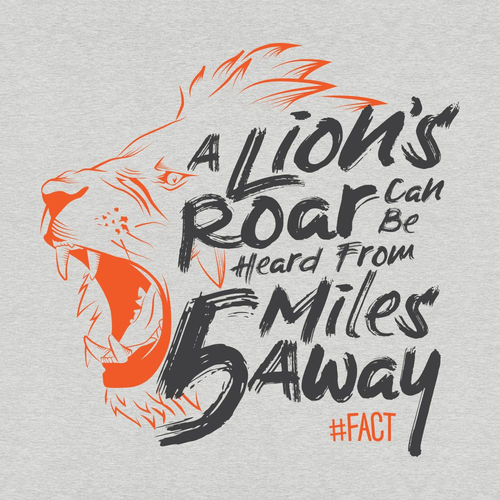 Lion #FACT T-Shirt