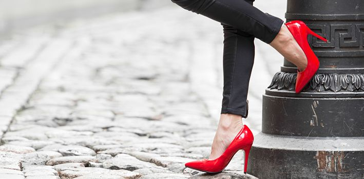 The surprising background of high heels
